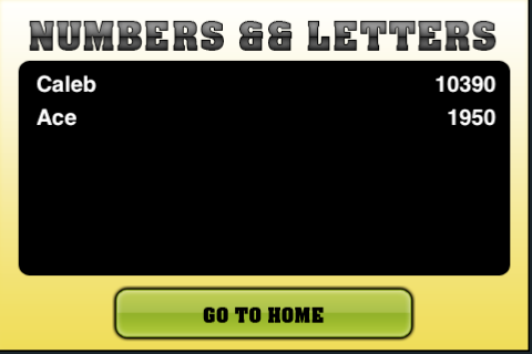 Screenshot Numbers && Letters Free