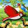 Flying Jungle Bird